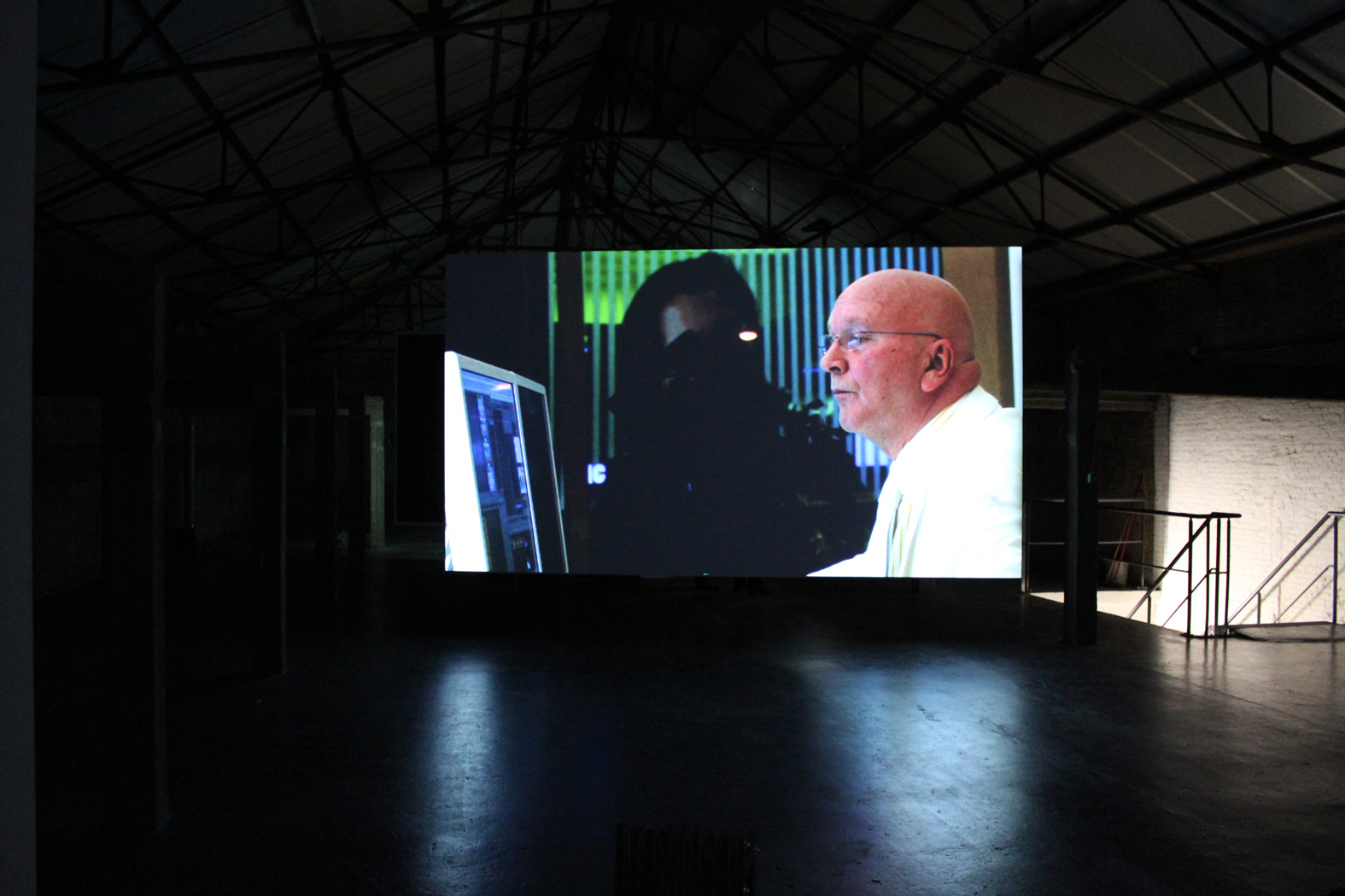The Residence (a wager for the afterlife), video installation at Argos, Brussels